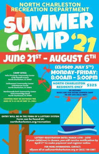 Camps Children S Programs City Of North Charleston Sc